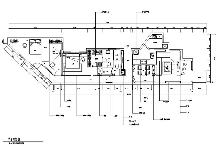 高级灰现代简约风住宅设计施工图(附效果图)
