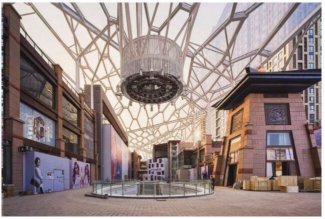 ETFE膜结构天幕--西安老城根Gpark-QQ截图20181204100925