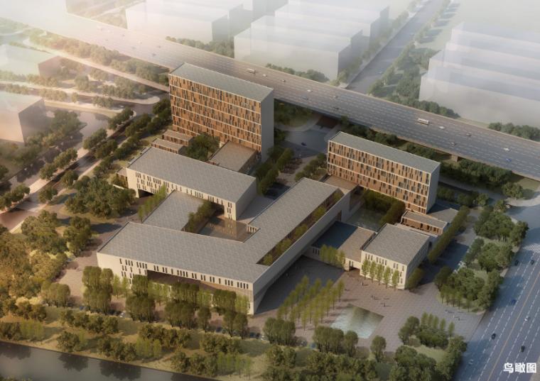 [上海]嘉定中医院建筑设计方案文本