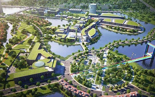 案例|融创华北示范区项目景观设计_11