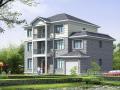 三层新农村独栋别墅建筑设计施工图(含全套CAD图纸)