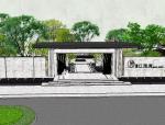 江湖畔居住小区景观模型设计