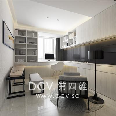 西安口碑最好的极简平层别墅设计-紫汀苑_10