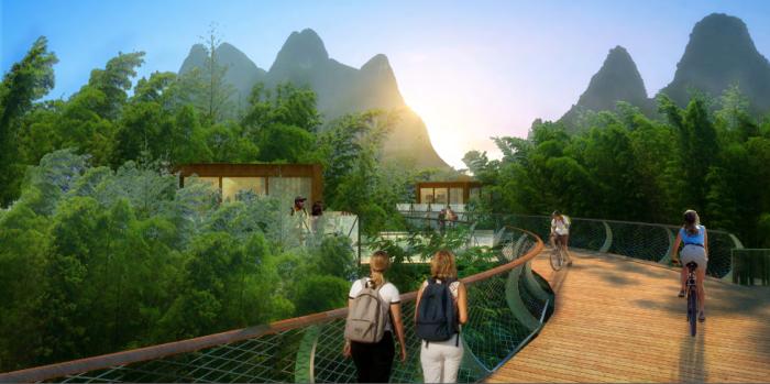 [广西]桂林风情古镇老街乡村景观设计方案(赠项目lumion动画)-效果图23