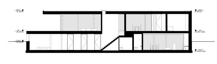 荷兰混凝土板组成的Zeist住宅-20