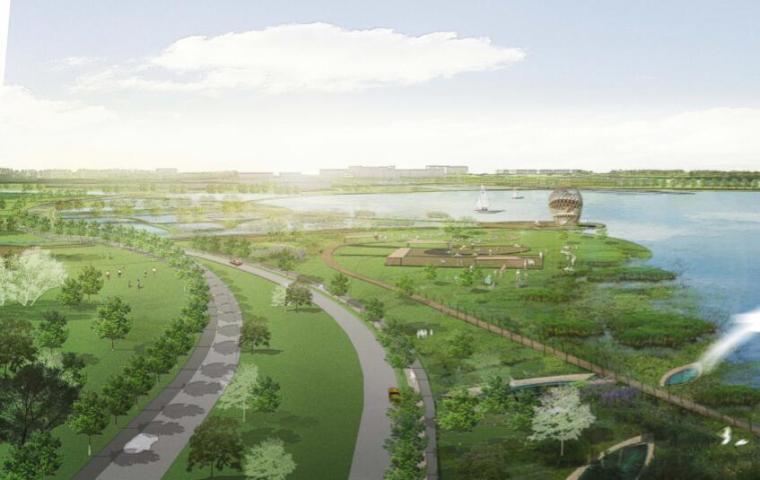 钱资湖景观概念规划设计方案文本-09生态岛区