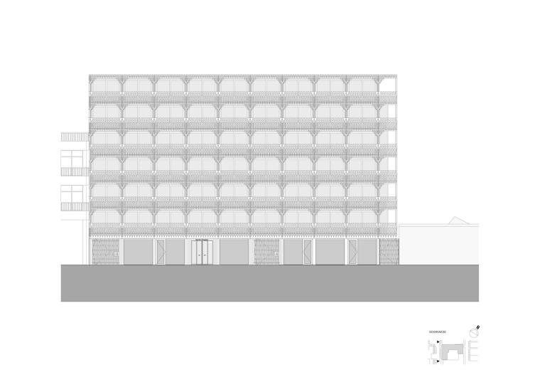 荷兰预制混凝土模块式的住宅-荷兰预制混凝土模块的住宅立面图(14)