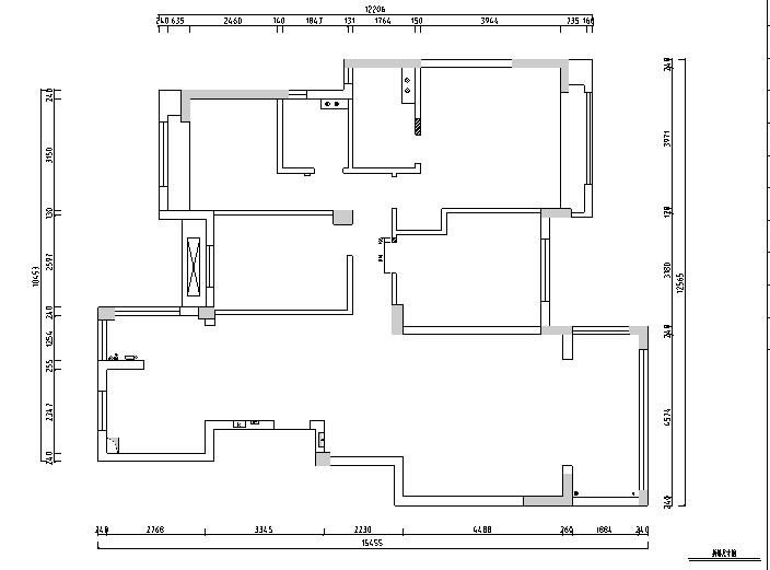美式风格山湖间别墅设计施工图(附效果图)_1