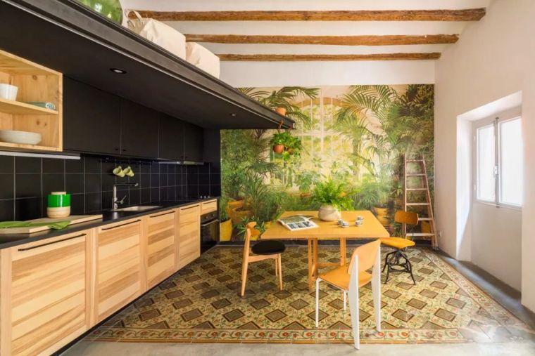 "45m²的小户型公寓如何利用好光线,改造为""绿色之家"""