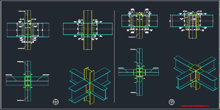 钢承板两层门式钢架厂房结构施工图_8