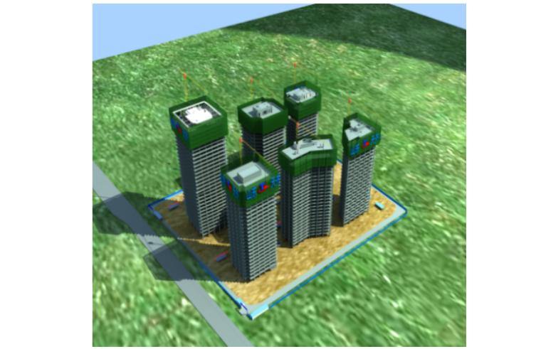 [济南]金融商务中心A23楼外脚手架方案