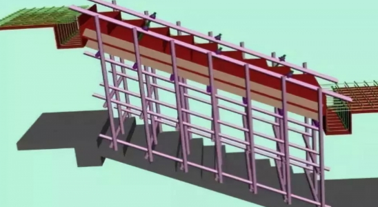 标准层施工时的沉降点的设置方法