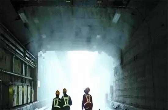 隧道防尘和防有害气体