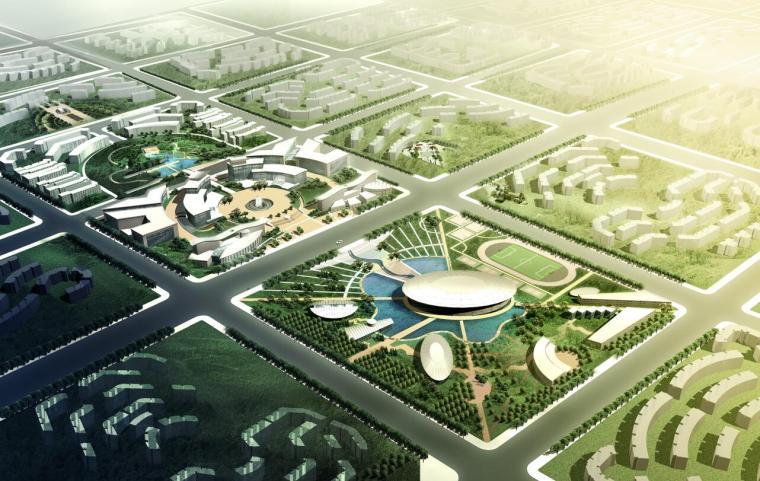 [北京]回龙观文化居住区景观设计文本