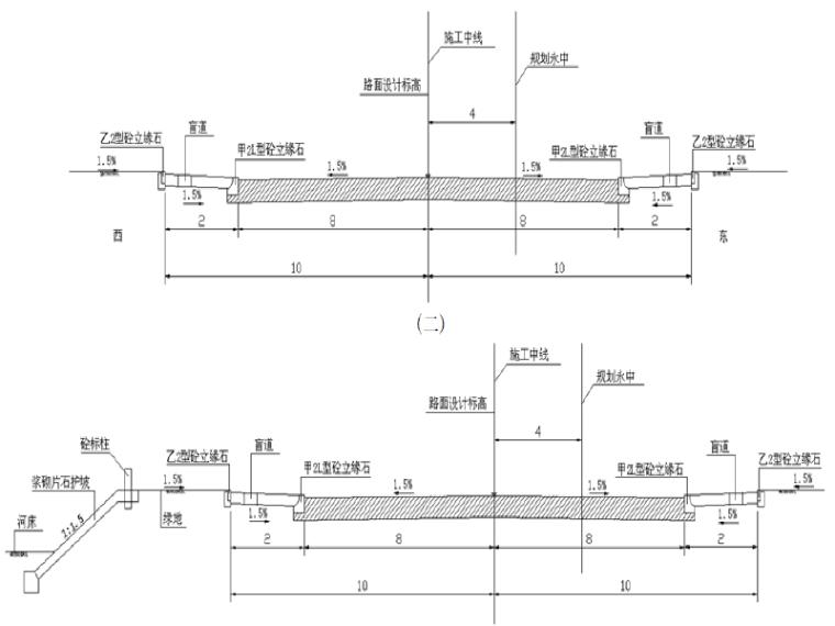 [北京]东北部北延道路工程三标段施工组织设计(161页)
