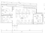 [广东]甲级写字楼办公室施工图