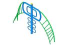 bim软件应用-族文件-攀爬架