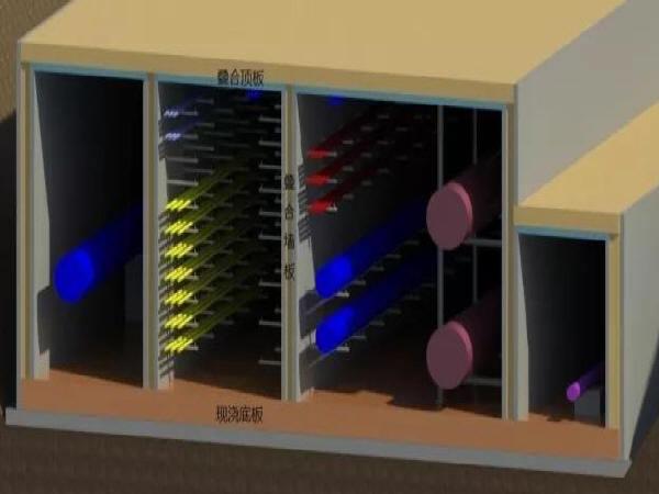 探秘地下综合管廊叠合装配绿色高效建造技术
