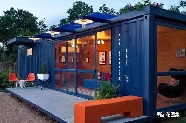 集装箱式别墅,下一个小庭院潮流?