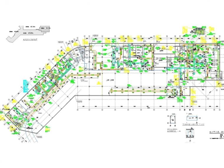 [江西]高层五星酒店空调通风防排烟系统(机房锅炉房大院设计)