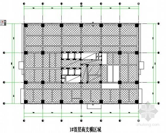[北京]框剪结构办公楼工程高支模施工方案