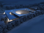 夜景大型建筑3D模型下载
