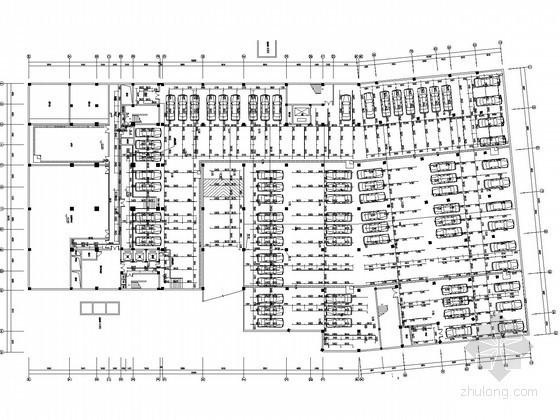 [江西]商业办公及公寓式综合型大厦给排水图纸(大空间灭火)