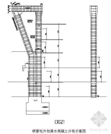 某工程大体积清水饰面混凝土施工方案(Y型劲性钢管柱)