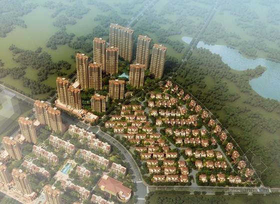 [西安]现代风格高层住宅区规划设计方案文本