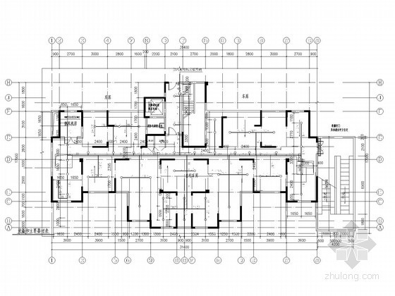 [安徽]高层住宅小区及其配套建筑给排水施工图
