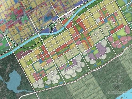 [内蒙古]人性化绿色睿居新城城市景观规划设计方案(知名设计公司)