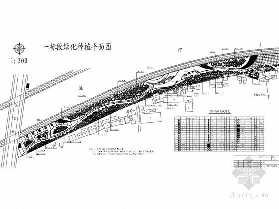 运河公园景观提升工程设计施工图