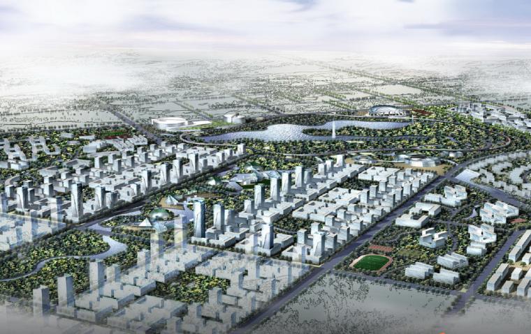 [安徽]科学城概念规划及启动区城市设计方案文本