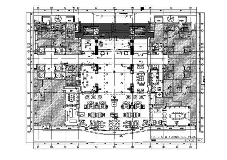 [杭州]泛海钓鱼台酒店设计施工图(附物料表)