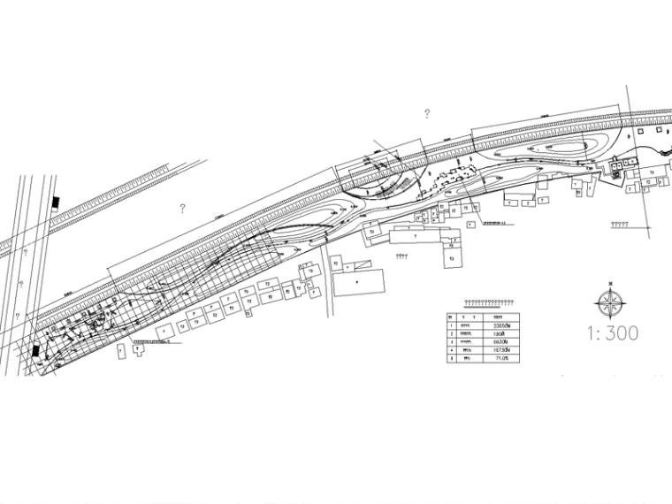 [浙江]杭州城运河公园全套施工图(含:廊架,健身场地等)