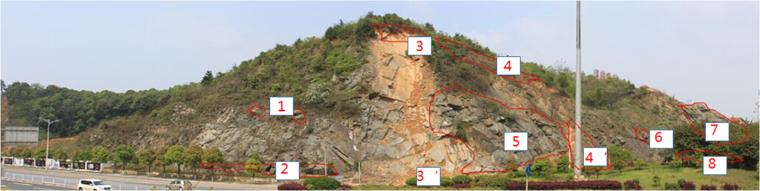 危岩体边坡治理与绿化方案设计