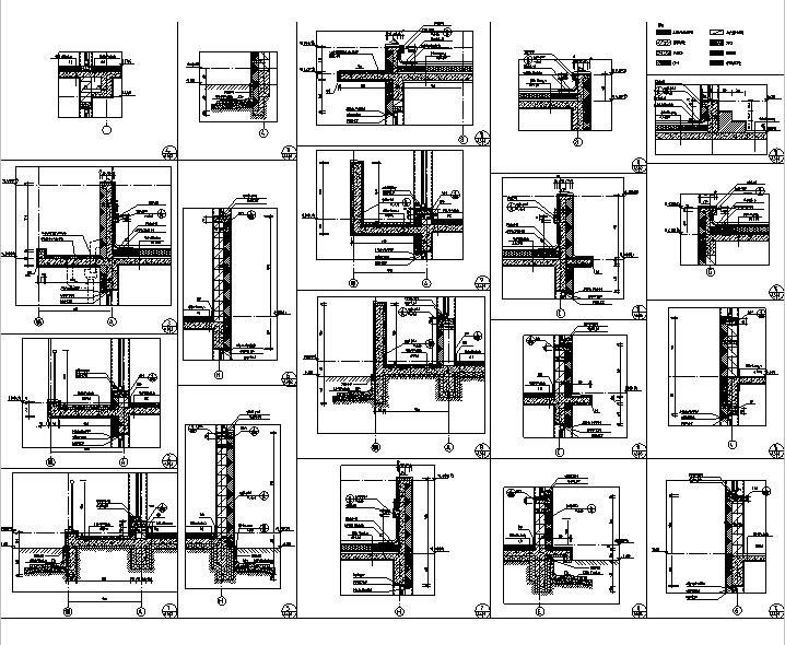 [吉林]多层框架剪力墙结构度假区住宅建筑施工图_9