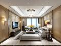 现代中式家装设计方案效果图(含3D模型)