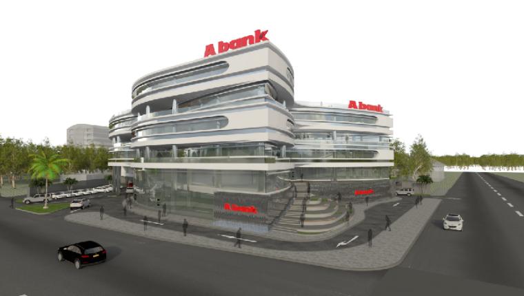 国外异形钢结构办公楼建筑结构全套图
