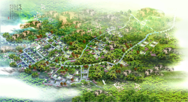 [山东]生态农业特色旅游区乡村改造景观规划设计方案(附详细设计说明)