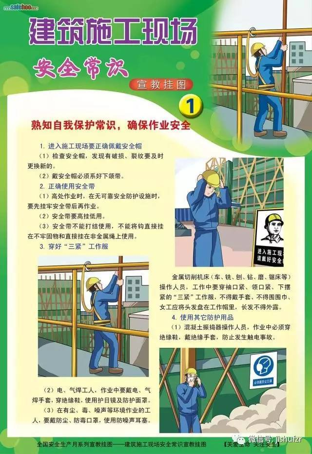 [科普]快进来!六张图教你看懂建筑施工现场安全常识