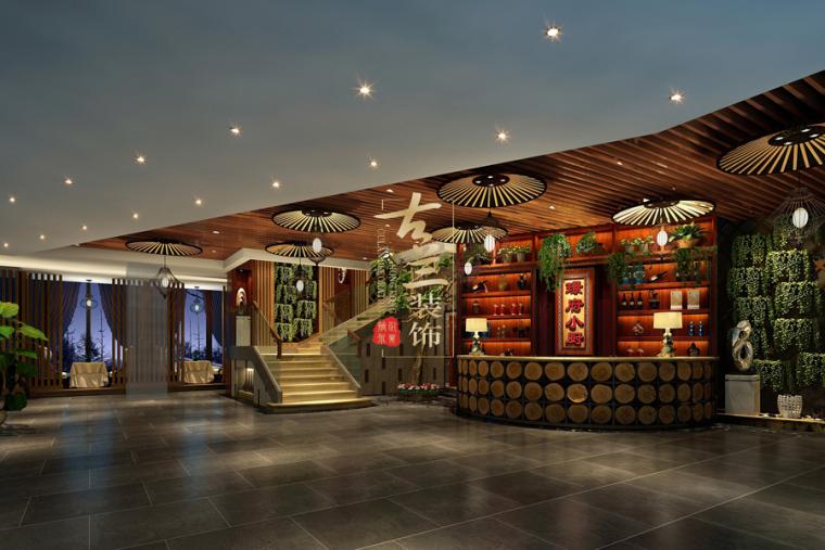 璟府小厨餐厅-成都主题餐厅设计-古兰装饰