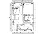 【内蒙古】加州风样板间设计施工图(附效果图)