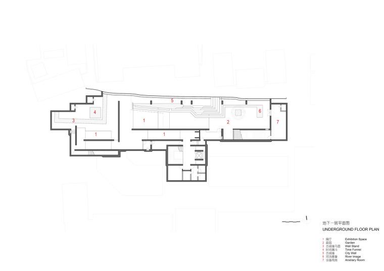 徐州现代语境表现的城墙博物馆平面图(13)