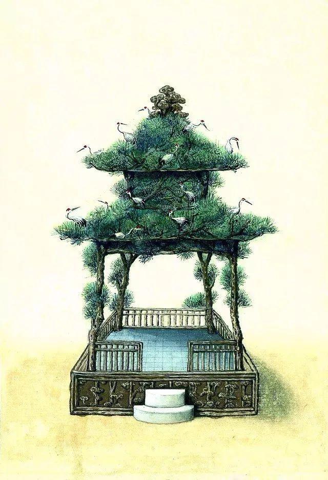 另一个视角:外国人画笔下的中式古典建筑_9