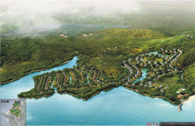 [江西]某生态湖国际度假区修建性规划设计文本JPG(62页)