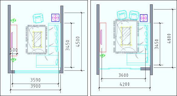 住宅户型的合理尺度(经济型、舒适型、享受型)_19