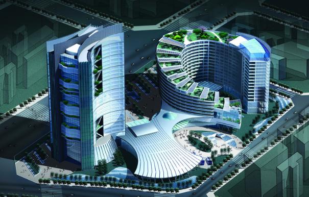 衡阳丽波大酒店给排水设计方案说明_1