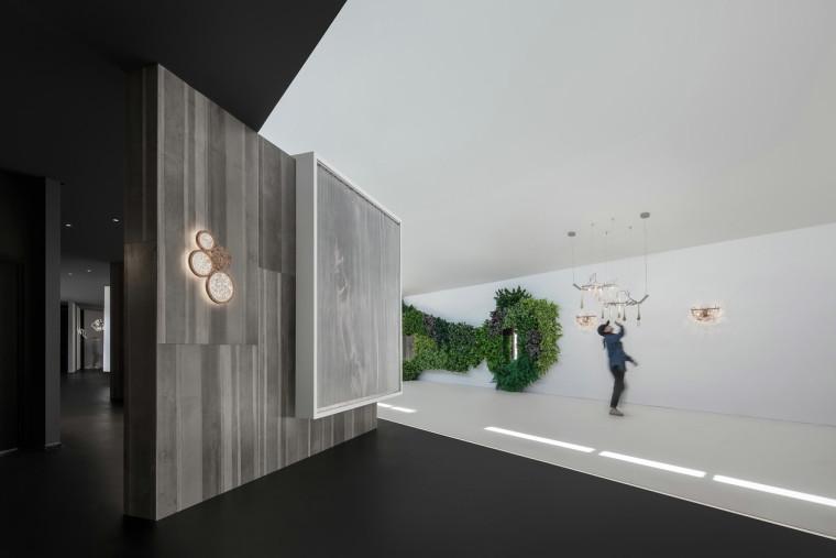 遇见一束光的设计-葡萄牙serip灯具展厅图片