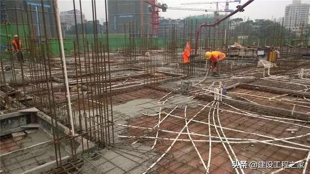 建筑电工线管预埋的入门方法